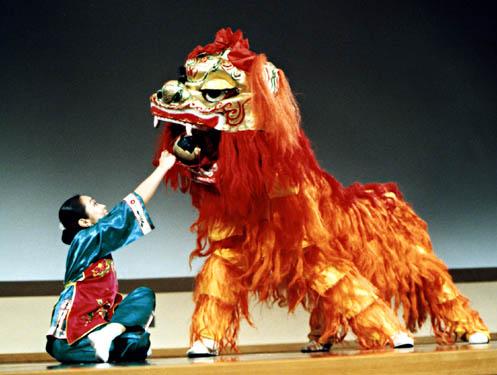 Fête du Têt - Nouvel an vietnamien - Danse du lion